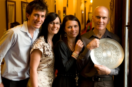 2010 Chris Berry and his wife Rowena are parents to Aimee, Haiden, Emma and Lisa
